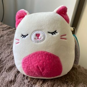 "NWT Carmen Cat squishmallow 5"""